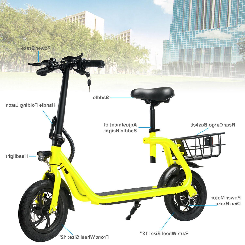 Electric Bike 350W Motor Lithium Battery EBike