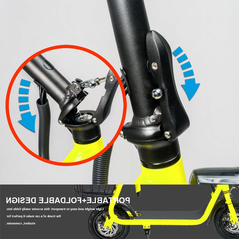 Electric Bike 350W Motor Lithium EBike Outdoors