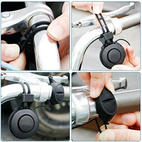 Waterproof Cycling Horn Bell Alarm US
