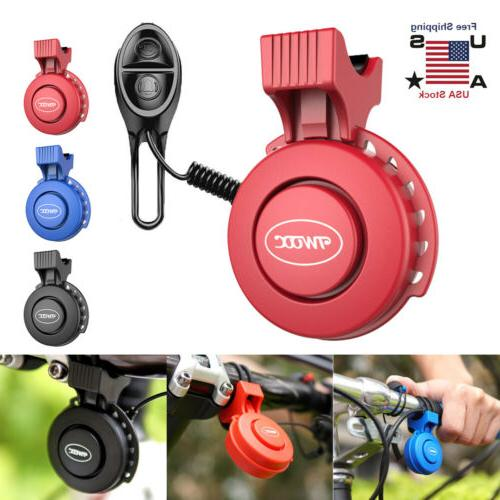 waterproof cycling electric bicycle horn bike handlebar