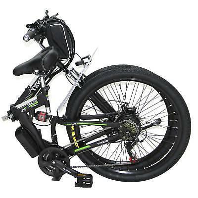 "Black 26"" Electric Bike Cycling 36V US"