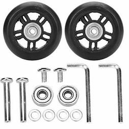 Tbest Luggage Suitcase Wheels Replacement Repair kit,2 PCS
