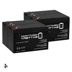 Mighty Max 12V 7Ah SLA Battery Replaces E-Ride Electric Moun