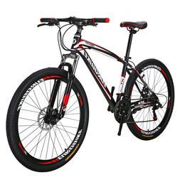 "Eurobike 27.5"" Mountain Bike 21 Speed Disc Brakes  Full Bicy"