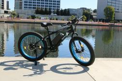 "New black 26"" 500W 36V Lithium battery Electric fat Bike Bea"