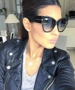 ELITE Cat Eye Anoushka Oversized Womens Sunglasses Retro Vin