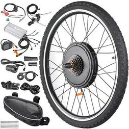 "48V 1000W 26"" Rear Wheel Electric Bicycle LCD Display Motor"