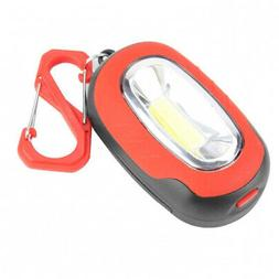 - Alomejor Camping Lantern Lamp ABS Portable COB Flashlight