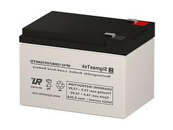 SigmasTek Replacement 12V 1.2AH SLA Battery For Power Patrol