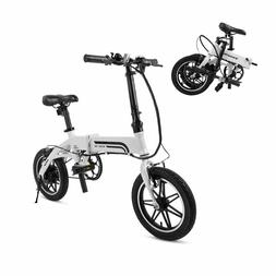 SwagCycle EB-5 Lightweight Aluminum Folding E-Bike Pedal Pow