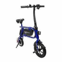 Swagtron 200W SWAGCYCLE Envy Steel Frame Folding Electric Bi