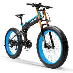 T750Plus Folding <font><b>Electric</b></font> <font><b>Bike<