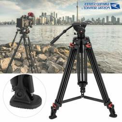 XTK-8018 Professional Heavy Duty DV Video Camera Tripod Flui